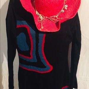 Venus Sweater Black Dress